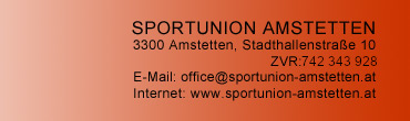office@sportunion-amstetten.at